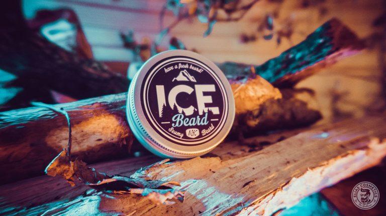 boite métal de baume barbe ice beard