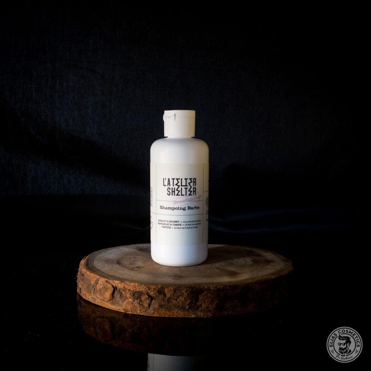atelier shelter shampoing barbe beardmingo