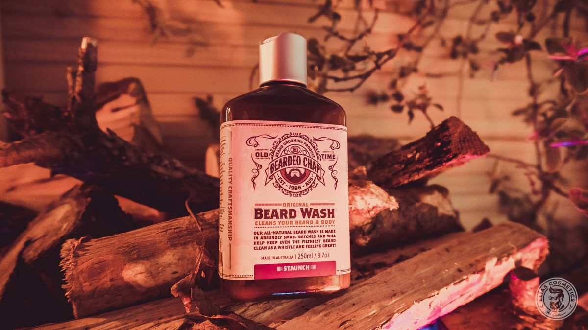 shampoing barbe beard wash staunch par The Bearded Chap