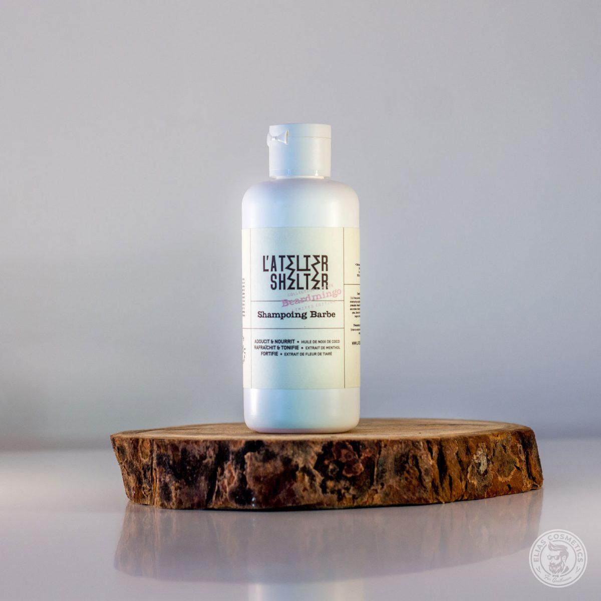 shampoing barbe beardmingo atelier shelter