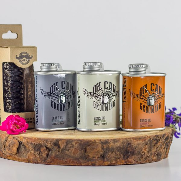 coffret barbe oil can grooming