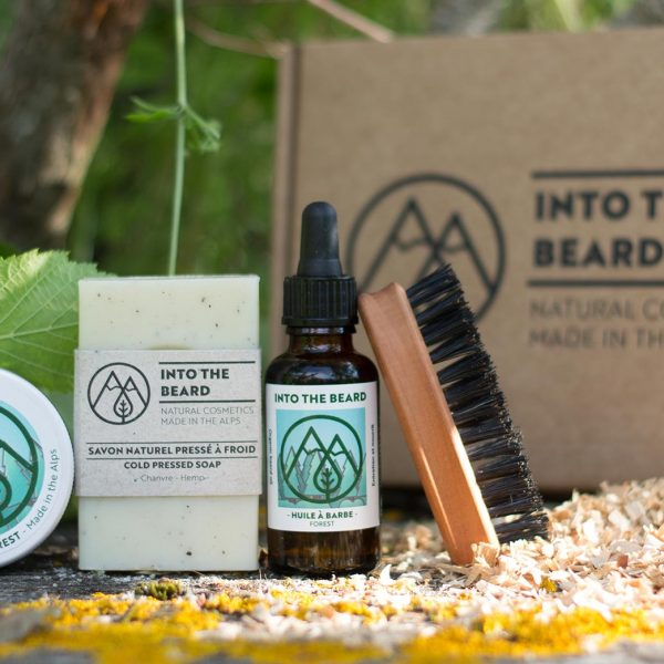 coffret barbe forest into the beard