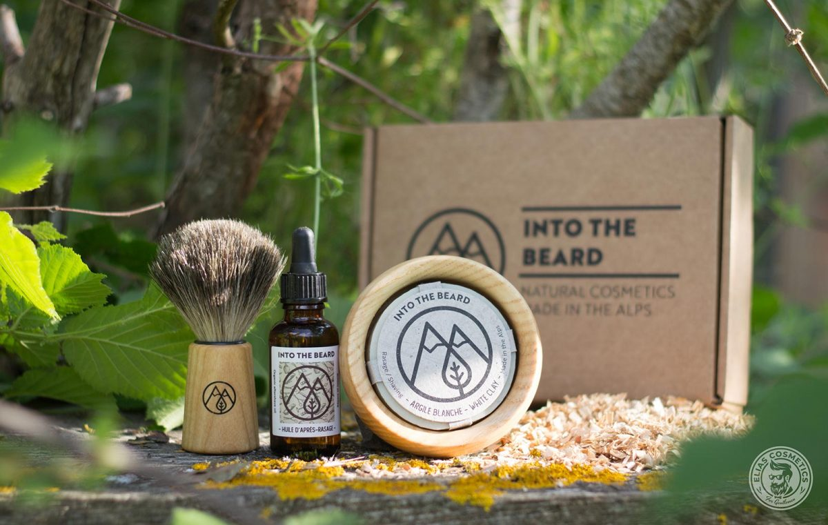 Coffret Into The Beard Rasage homme