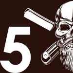 icone tête de mort barbe 5