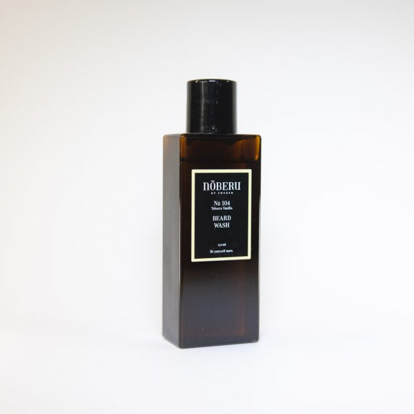 Shampoing Barbe N104 Tobacco Vanilla Noberu