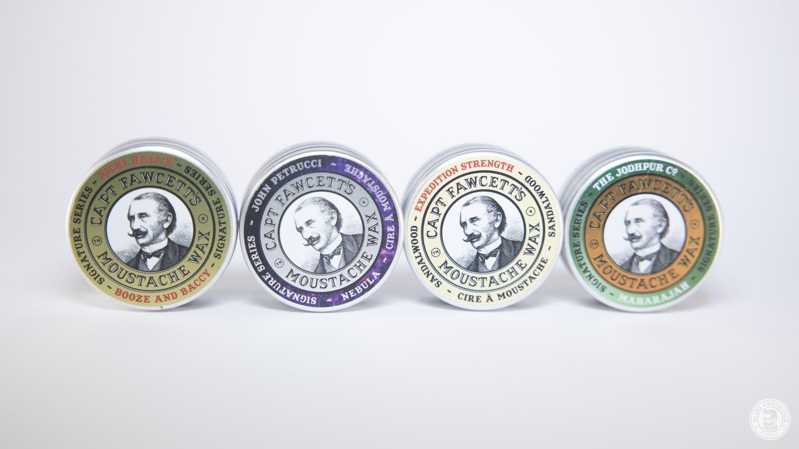 collection de cire pour la barbe Captain Fawcett